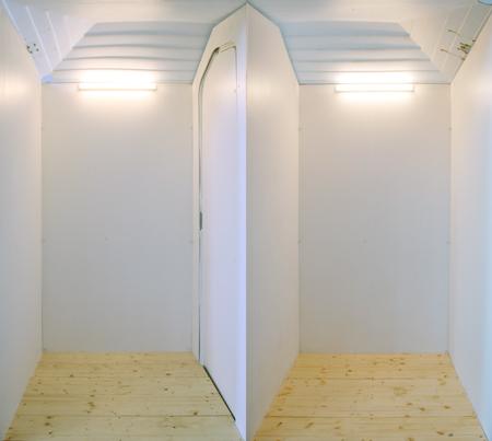 1,15 x 2,30 x1,89m Dixiland Innenraum